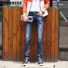 Mens Jeans 2016 Slim Grinding White Pencil Jeans Flanging Jean Homme Loose Trousers Fear Of God Youthful Men Balmans Jeans C13