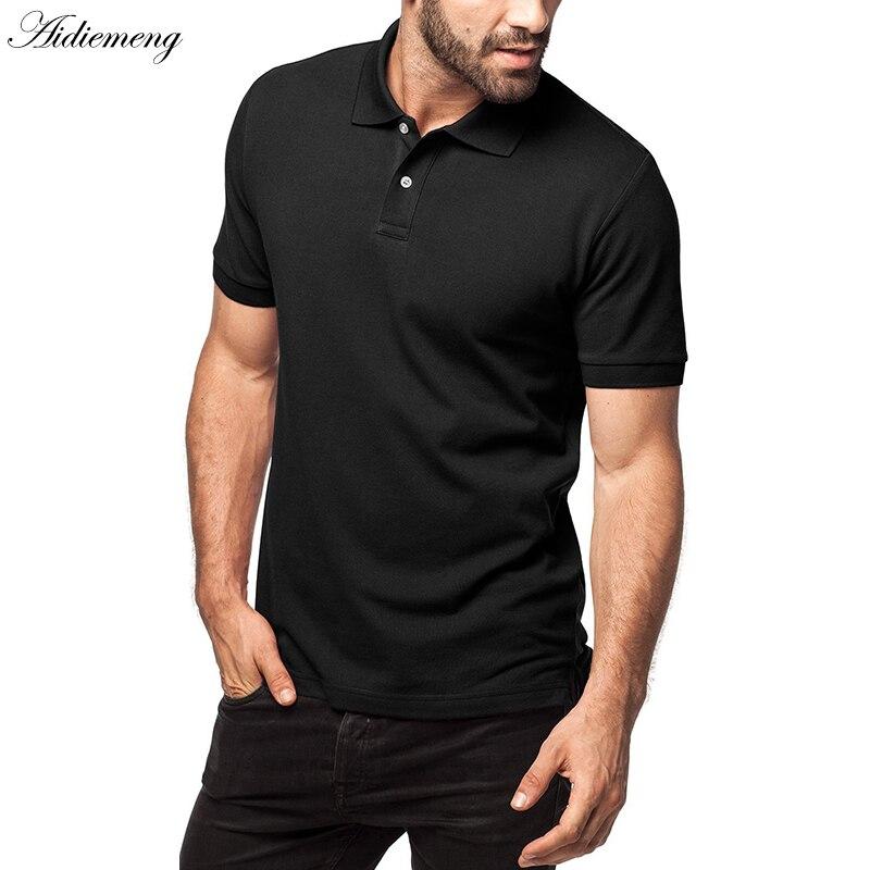 Plus Size T-shirts Men 2018 Summer Solid Cotton Breathable Men Shirts Short...