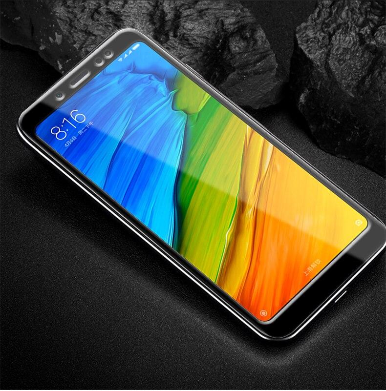 5D Full Cover Tempered Glass For Xiaomi Mi A1 Mi A2 Lite Mi 5X 6X Screen Protector For Xiaomi Mi8 Mi8 SE Mi6 Mi5s Mix2 Mi Note 3
