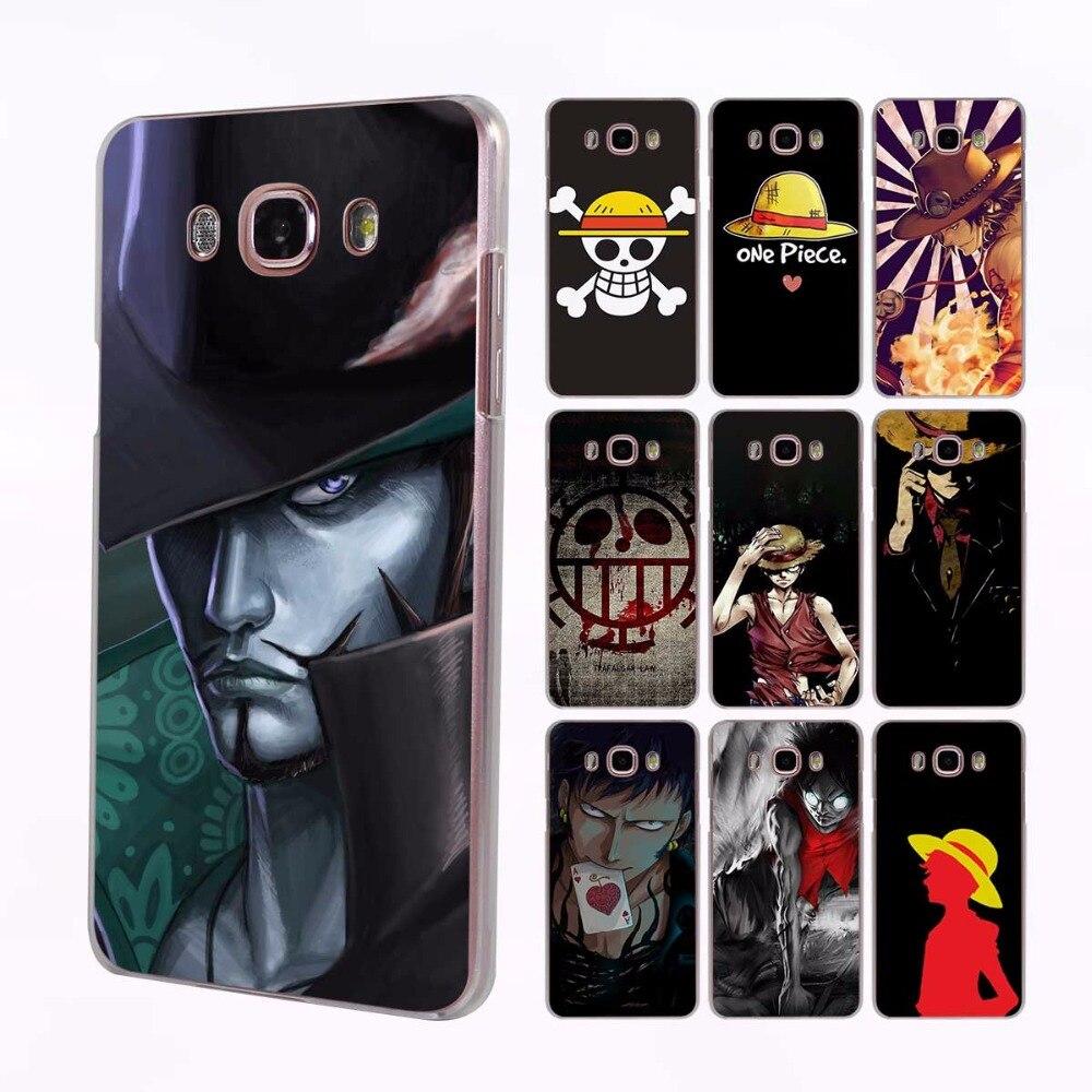 One Piece forever fans transparent clear hard case cover for Samsung Galaxy J7 J5 J3 J2 J1 J7 2016 J7Prime  J5 2017 J2Prime