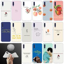 Silicone Phone Case Call Me by Your Name For Xiaomi 9 se 8 l