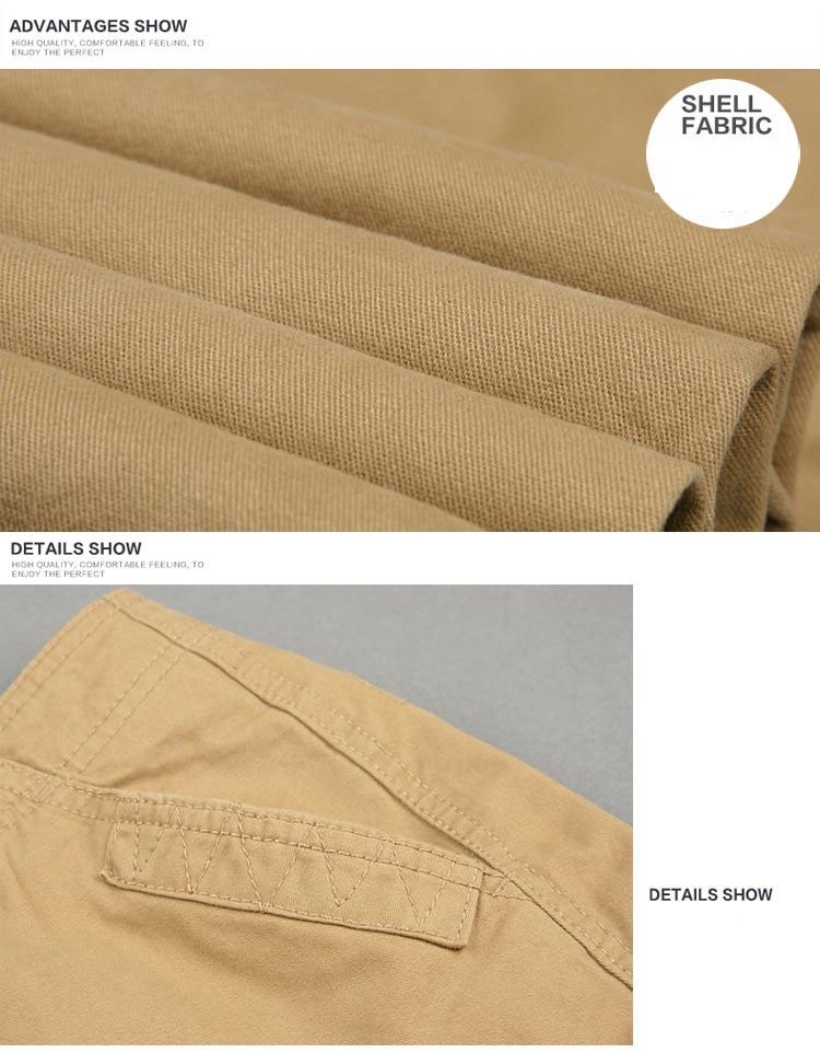 19 Spring Winter Military Pants Men Khaki Cargo trousers Casual Cotton Tactical Pants Men Big Size Army Overol Hombre 13