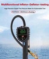 DP808 Digital Tire Pressure Gauge Tire For Car Truck Motorcycle Vehicle Diagnostic ToolInflator Meter Inflation Gun LCD Display