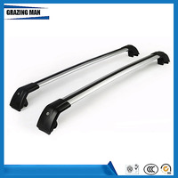 High quality 2 PCS Aluminium alloy roof rack rail cross bar fit for PAJERO SPORT Luggage Carrier