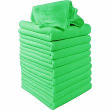 5 шт./компл. зеленый и синий микрофибра Чистка Авто Детализация мягкая салфетка из микрофибры полотенце для мытья пыли Инструменты для уборки дома
