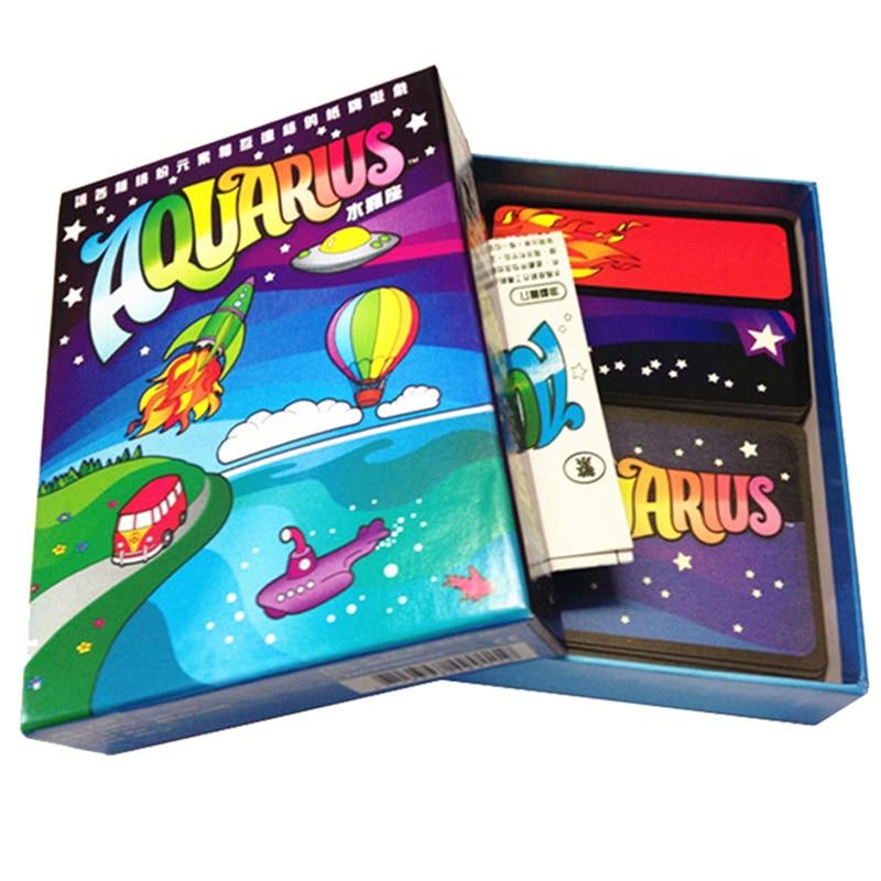 Водолей Настольная игра Семья/вечерние интересные карточки игры Best подарок для Семья спортивные развлечения или забавная игра