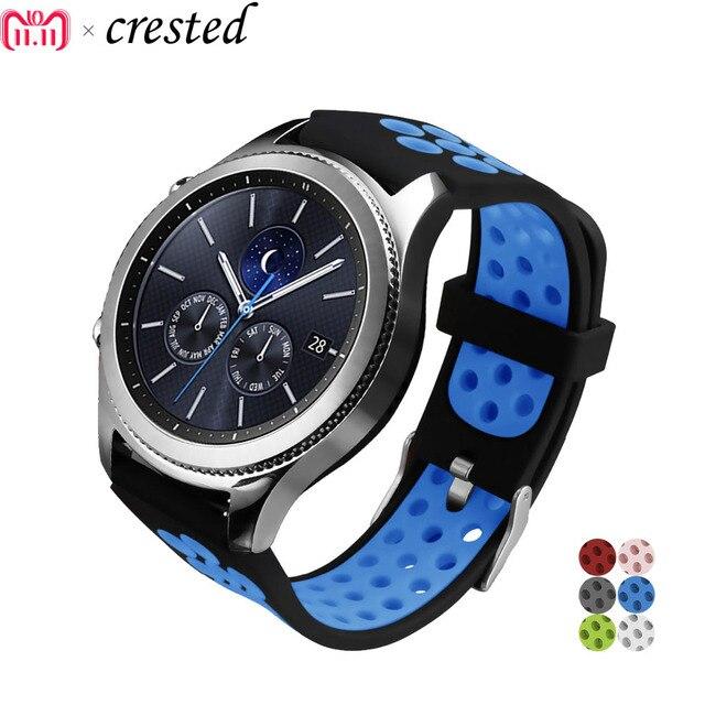 Sport strap for Samsung Gear s3 Frontier Band Galaxy Watch 46mm bracelet smart w