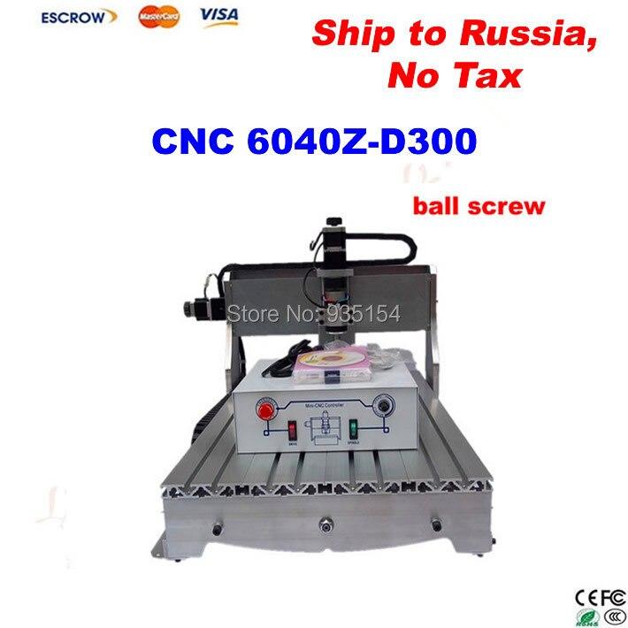 CNC 6040 Z-D300 mini cnc machine , 3 axis Milling Machine CNC Wood Carving Mini Engraving router  цены