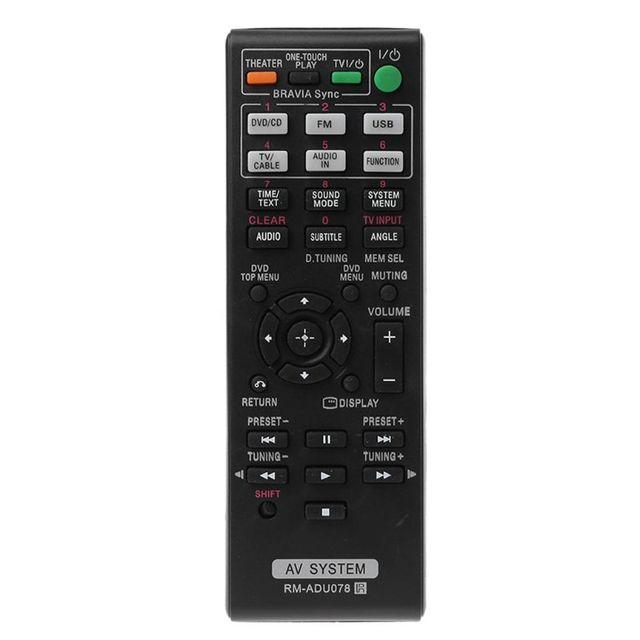 OOTDTY الأسود التحكم عن بعد RM ADU078 AV نظام لسوني DAV TZ710 HBD DZ170 HBD DZ171 HBD DZ175 استبدال التلفزيون
