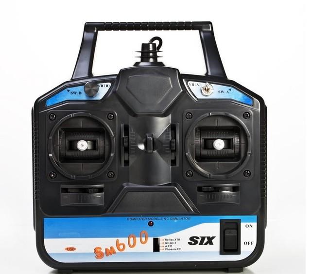 Flysky FS-SM600  RC SM600 simulator started 6 -channel flight simulator G4/G3.5 / Phoenix 2.5/XTR5.0