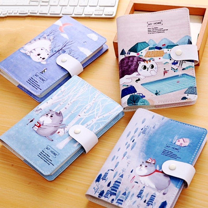 cute kawaii stationery hand books blank color pages soft leather journal diary planner japanese notebook office school supplies