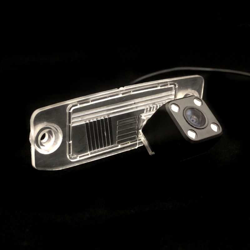 Fisheye untuk Hyundai Aksen Sonata V Terracan/Elantra XD Ix55 Sonata Tucson JM Mobil Cadangan Tempat Parkir Mundur Belakang kamera Sony