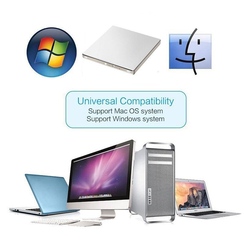 YAHEY USB 3.0 DVD ձայնագրիչ Drive Արտաքին - Համակարգչային բաղադրիչներ - Լուսանկար 6