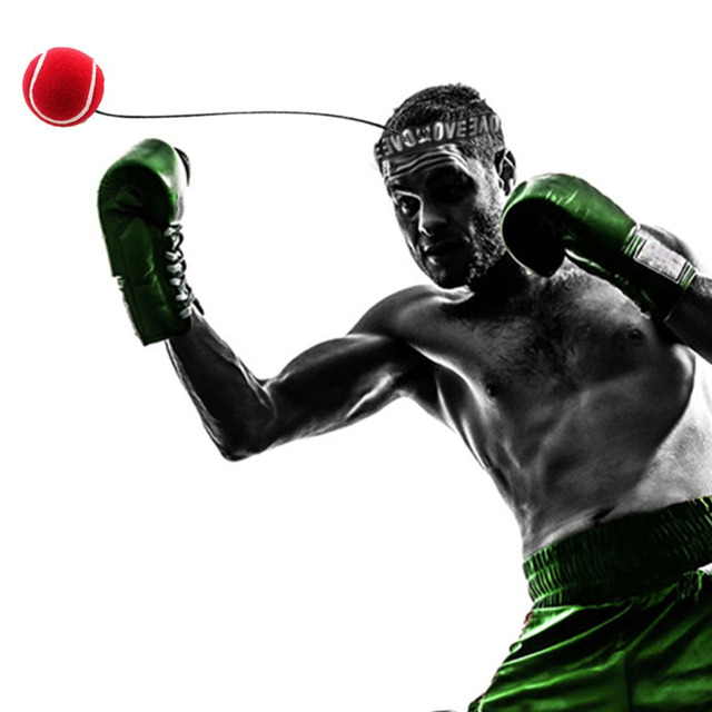 Fight Boxing Ball Equipment With Head Band For Reflex Speed