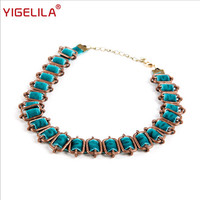 2018 women necklace peacock green velvet ribbon from new brand elegant vintage party necklace top accessories for ladies