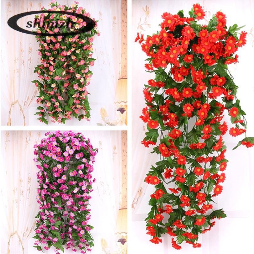 Цветы висячие искусственные