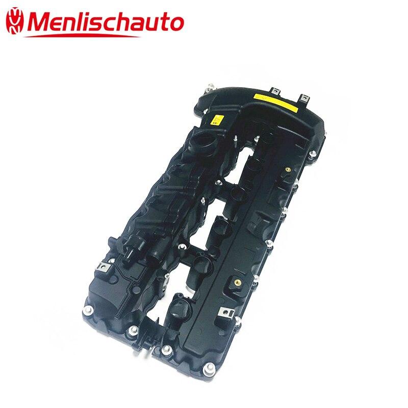 Pour 08-13 voitures allemandes N54 N54T 3.0L Turbo moteur culasse couvercle de soupape en plastique OEM 1112 7565 284