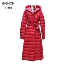 On Sale Brand Korean Designs Park Thick Jacket Women Long Sleeve Hoodie High End Women's Skirt Winter Jacket Women