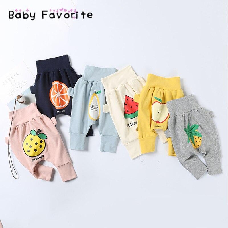 2018 Hot sale Spring Fruit Baby Boy Girl Pants 5 Kinds Of Fruit Fashion Loose Pants Newborn Infant Cute Baby Clothes Bebek PS-11