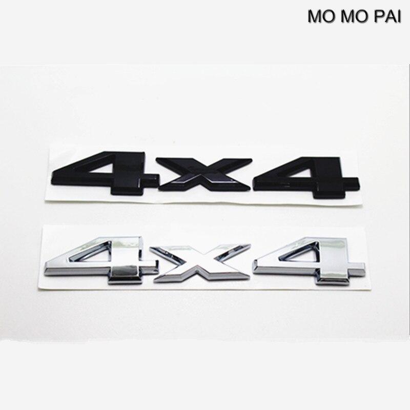 MOMO PAI ABS car styling Hot 1pcs Auto Car 3D 4 X 4 Chrome Logo Decal Emblem Sticker for JEEP high quality