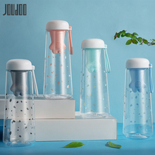 JOUDOO 550ml Cute Cartoon Water Bottle With Tea Filter BPA Free Plastic Sports Bottles with Infuser Leakproof Drinking Bottles35