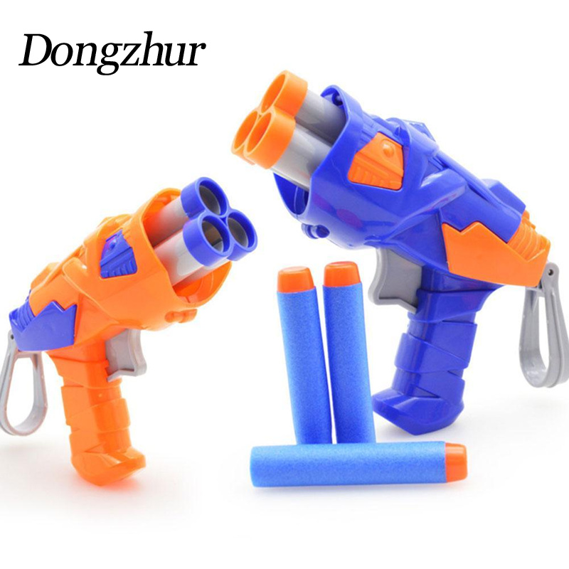 Dongzhur Kids Toys Soft EVA Bullet Toy Gun For Bullet Darts Round Head Blasters EP Children Educational Toys