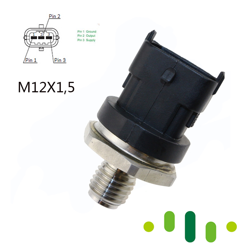 DIESEL Common Rail Fuel High Pressure Sensor For IVECO MAN LDV CUMMINS VOLVO DEUTZ KHD DAF CASE ALPINA VM 0281002964 0281002767