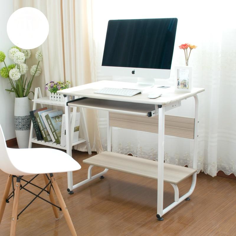 Hot Sale Simple Modern Desktop Computer Desk Modern Study Writing Desk Home Office Desk Furniture Supplies