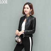 Genuine leather Sheepskin coat for women female jacket Leather Jacket for women women's leather jacket dublenka moto jacket