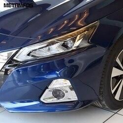 Dla Nissan Altima 2019 2020 edycja jedno Chrome przednie światło przeciwmgielne lampa osłona przeciwmgielna wykończenia rama ochronna akcesoria zewnętrzne