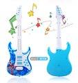 Детские четыре струнной гитары electric toys Can play инструмент детские многофункциональный моделирование с музыкой образовательные toys