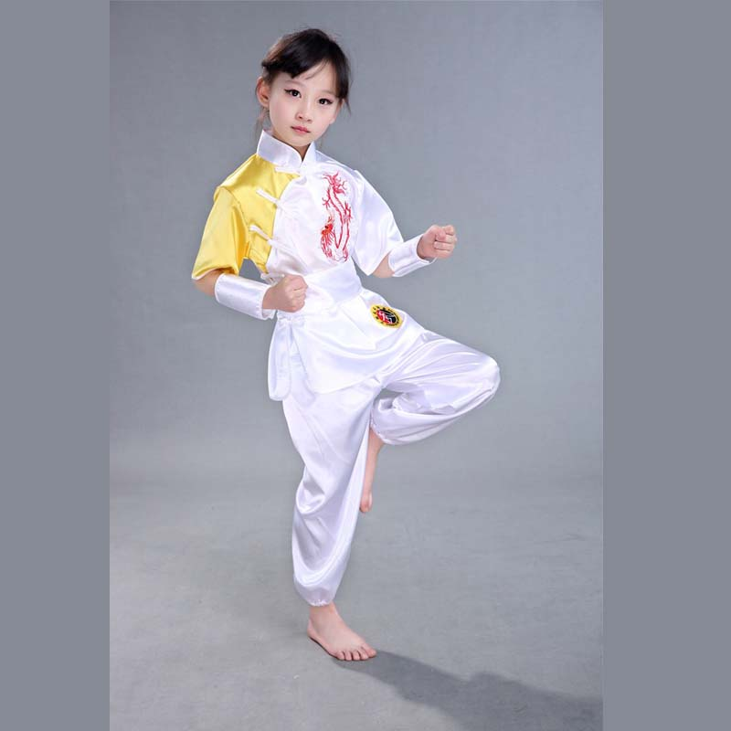 US $9 63 Chinese Traditional Wushu Clothing for Kids Martial