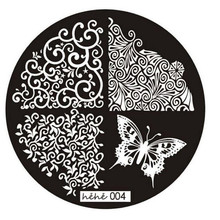 2016 Hot Sale Nail Art Pattern Image Stamp Stamping Plates Manicure Template 004 Nail tool kits for women Girl to choose
