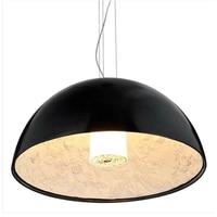 Modern LED Kitchen Dining & Bar E27 Pendant Lights Black&White Sky Garden Pendant Lamps Decoration Lamp for Bedroom Living Room