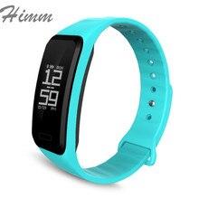 Himm умный Браслет фитнес-трекер Шагомер Водонепроницаемый Bluetooth трекер активности спортивный умный Браслет фитнес часы
