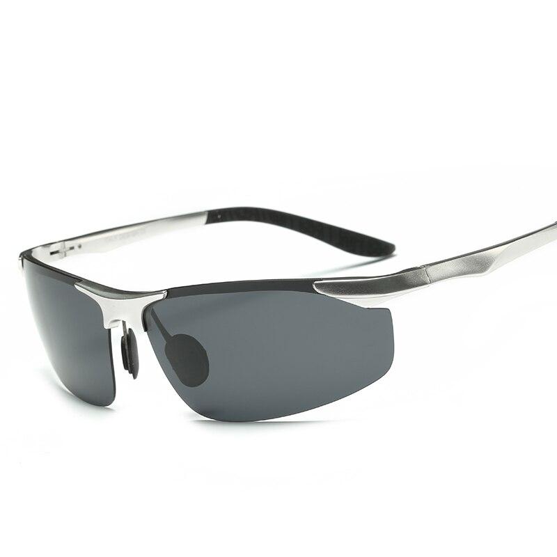 LUFF High Quality Men s Aluminum magnesium Polarized Sunglasses Sports Coated Sunglasses Driving Traveling Gafas Oculos
