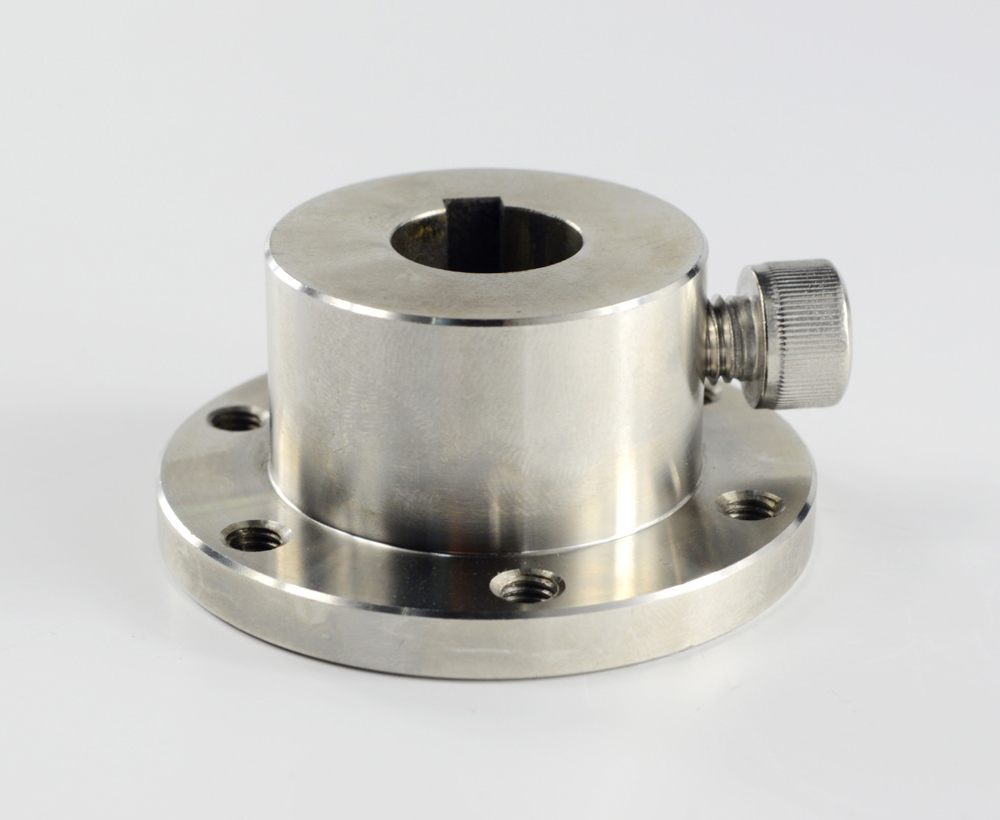 UniHobby UH18031 16mm Stainless Steel Coupling (with Key Groove)