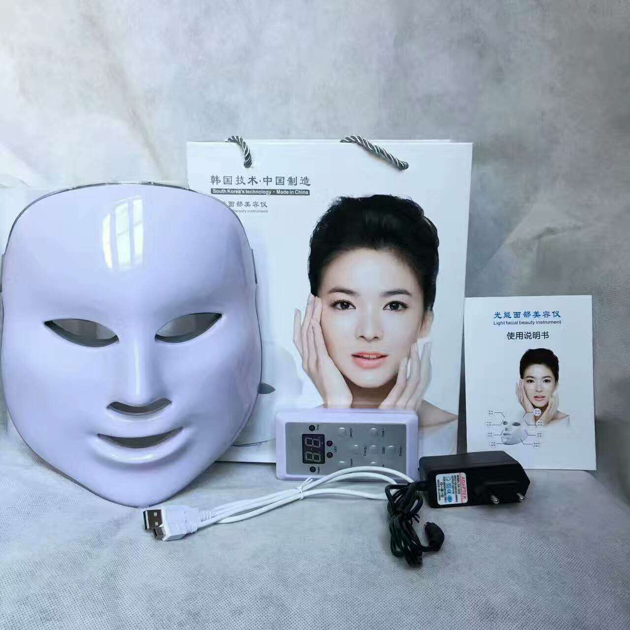 7 Colors Light Photon Led Ipl Pdt Facial Mask Skin Rejuvenation Beauty Therapy Wrinkles , Moisturizing, Nutrition Care7 Colors Light Photon Led Ipl Pdt Facial Mask Skin Rejuvenation Beauty Therapy Wrinkles , Moisturizing, Nutrition Care