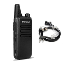 Zastone X6 UHF 400-470MHZ Mini portable 16 channels handheld walkie talkie CB Radio for hunting radio with headset
