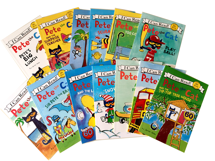 13 Books/set I Can Read Pete The Cat Picture Books Children Baby Famous Story English Tales Child Book Farmyard Book Set
