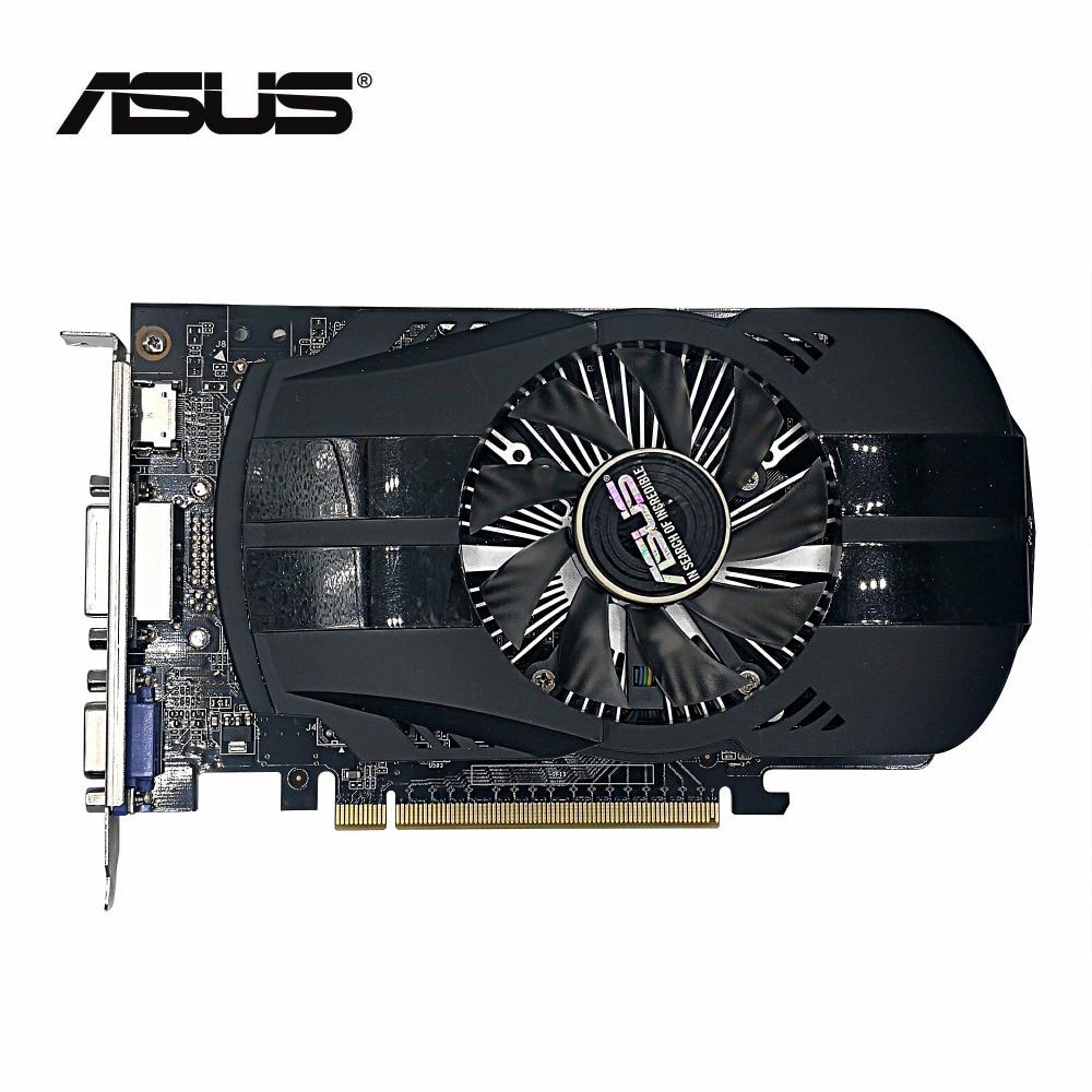 ¡Usado, original ASUS GTX 750TI 2 GB 128bit GDDR5 tarjeta gráfica, 100% probó bueno!