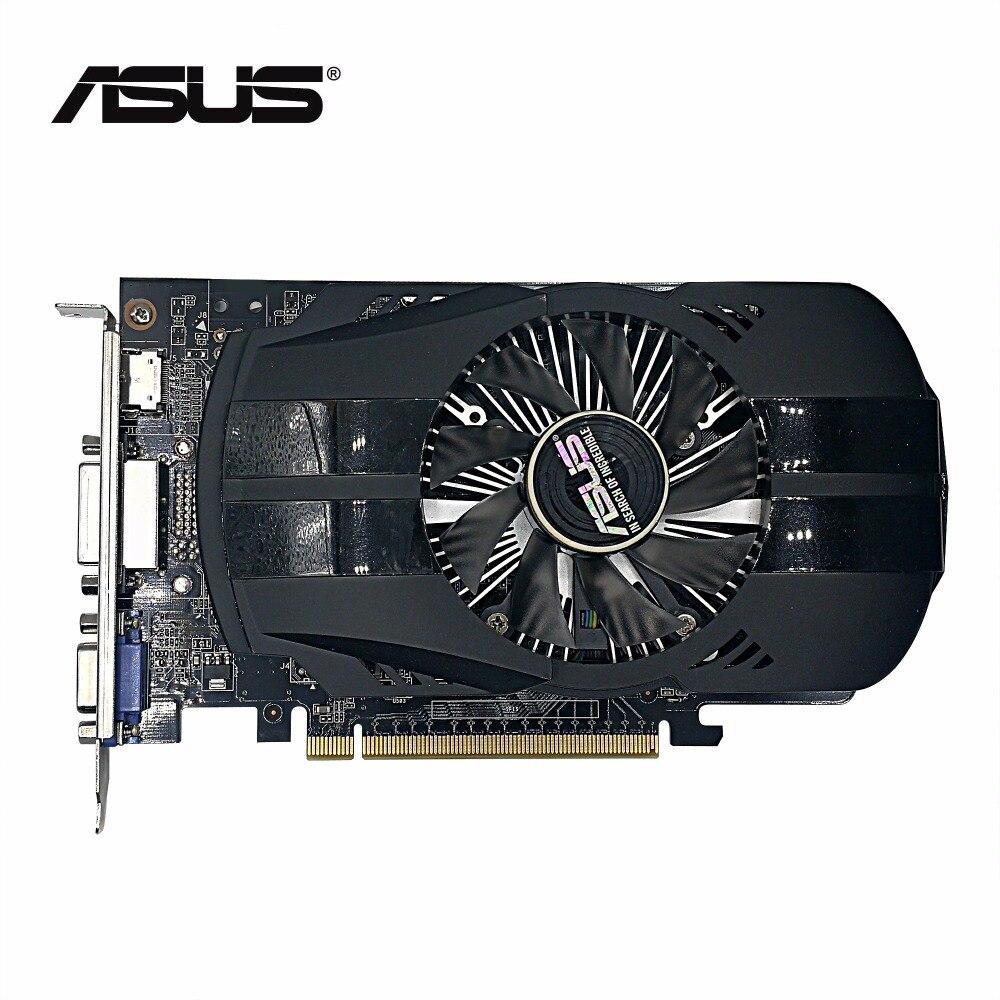 Verwendet, original ASUS GTX 750TI 2 GB 128bit GDDR5 Grafikkarte, 100% getestet gut!