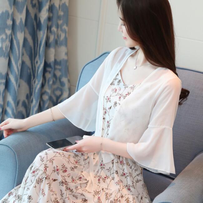 Tejido blanco Fashion De Nueva Suéter Sólido Cardigans Seda Llegada Mujer  Shrug Chaleco Señora La Negro ... f2eb3f9202f0
