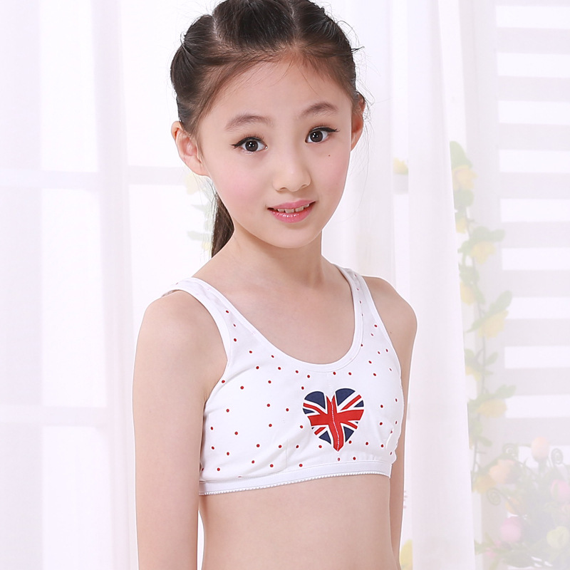 Aliexpress.com : Buy Puberty Girl Underwear Cotton Training Bra ...
