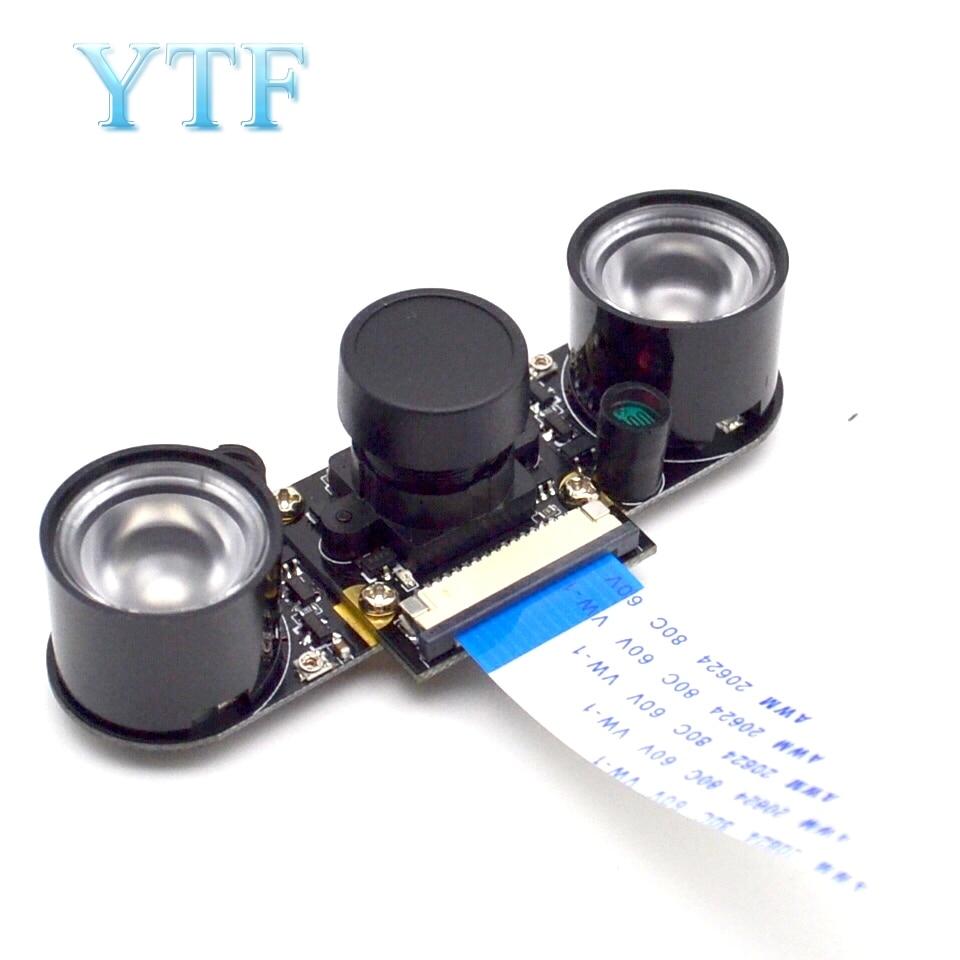 Raspberry Pi 2 PI 3 B+ Wide Angle FishEye Camera Kit +LED Raspbery Pi Camera Infrared Light Lamp