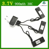 3PCS 3 7V 900mAh 30C Lipo Battery Accessory For TIANQU VISUO XS809W XS809S XS809HW XS809 Battery