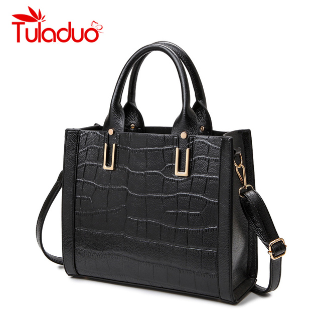 Women Designer Handbags High Quality Female Shoulder Bags Luxury Brand Crocodile Print Bag Ladies Handbags Leather Crossbody Bag
