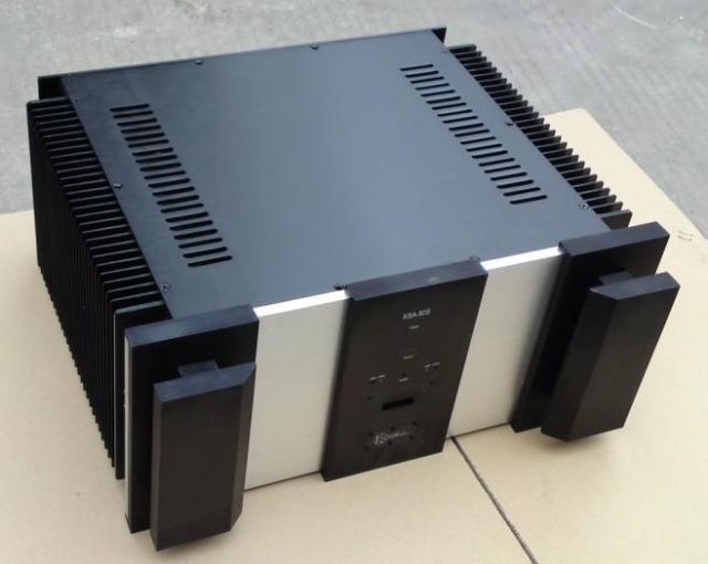 A50S усилитель мощности шасси/алюминиевый корпус блок питания корпус усилителя/DIY amp Корпус