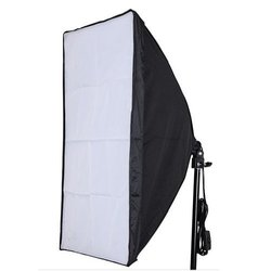 Neewer 24x24/60cmx60cm Wired Studio Softbox Diffuser with E27 Socket for Fluorescent Bulb Lamp