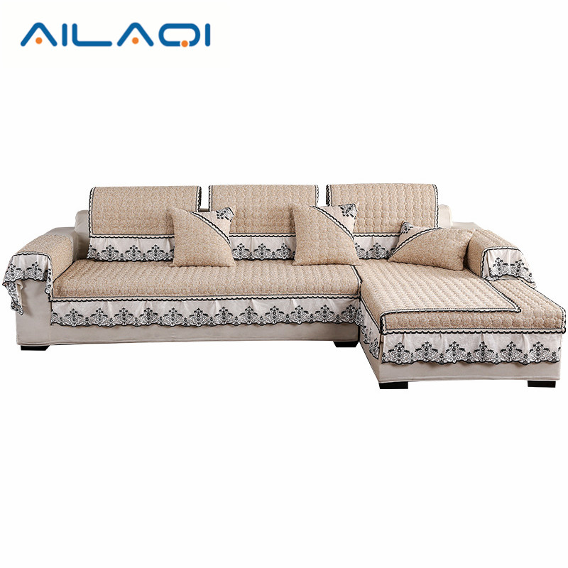 AILAQI Modern Style Nature Sofa Cover Cotton/linen Slipcovers For Sectional  Sofa Four Seasons Usage 1Pc Custom Made-in Sofa Cover From Home & Garden On
